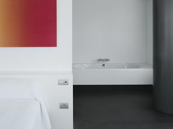 Salle de bain projet d'hôtel